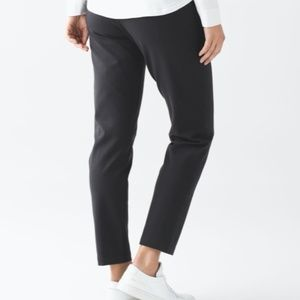 Lululemon City Trek Trouser (Ponte) Black, Size 4